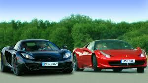 how much is 458 italia mclaren mp4 12c vs 458 italia fifth gear
