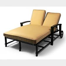Chaise Lounge Cushions Atlantis Double Chaise Lounge Replacement Cushion