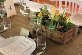 pretty succulent planter box centerpieces wedding day pins you