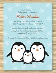 penguin baby shower penguin baby shower cimvitation