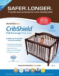 win a cribshield liner from breathable baby babycenter blog