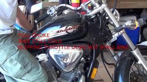 2001 honda shadow vlx deluxe carburetor troubleshooting cont