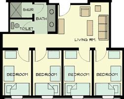 housing floor plans on cus housing floor plans usc upstate