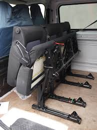 renault trafic back genuine folding oem rear triple bench seat from vauxhall vivaro
