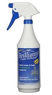 Chandelier Cleaning Toronto Amazon Com Brilliante Crystal Chandelier Cleaner Manual Sprayer
