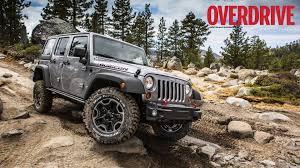 jeep wrangler rubicon on the rubicon trail