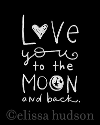 you to the moon and back moon etsy and chalkboards