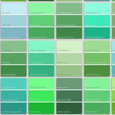 types of green color shades of green color howtoword design ideas