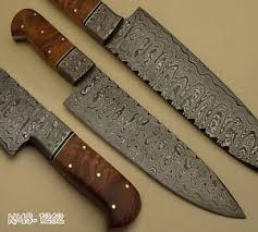 damascus kitchen knives handmade damascus kitchen knives and