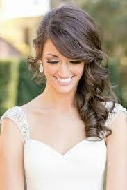 Hochsteckfrisuren Braut Locken by Best 25 Hochzeitsfrisur Locken Seitlich Ideas On