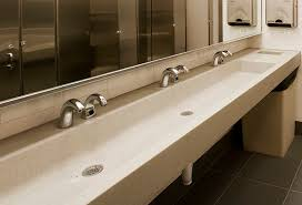 troff sinks bathroom concrete sinks for the restaurant and public restrooms by sonoma