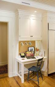 Kitchen Desk Organization Desk In Kitchen Custom Office Cabinets Cabinetry 8 7 Design