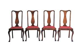 Queen Anne Dining Room Chairs Dining Chairs Ergonomic Antique English Dining Chairs