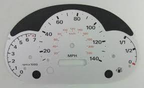 ford ka kmh to mph speedo meter clocks dials
