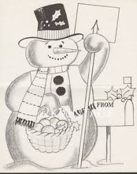 vintage santa claus christmas card circa 1950s hampton card