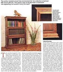 Wooden Bookcase Plans Free by Barristers Bookcase Plans U2022 Woodarchivist