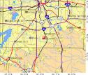 Lancaster, TX map