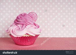 pink cotton candy land valentine cupcake stock photo 157244738