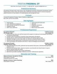 Sample Mental Health Counselor Resume by Vibrant Idea Occupational Therapy Resume Examples 13 Sample