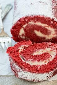red velvet cake roll crazy for crust
