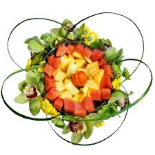 fruit arrangment magnificent platter flower fruit arrangement