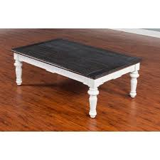 Cottage Coffee Table European Cottage Charcoal Gray White Coffee Table Rc Willey