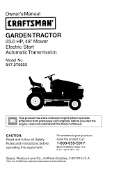 craftsman gt3000 owners manual documents