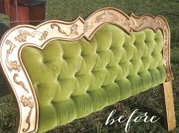 absolutely stunning painted headboard makeover giddy upcycled
