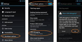 debugging android how to enable usb debugging on android phone tablet