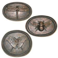 Garden Wall Plaque by Buy Bee Butterfly And Dragonfly Wall Plaque Collection In