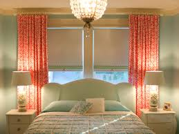 bedroom design fabulous salmon colored curtain panels coral