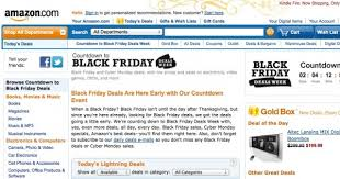whn is amazon having black friday top 5 black friday deal sites