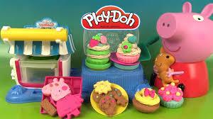 patissier et cuisine play doh desserts ma cuisine de pâtissier avec peppa pig pâte