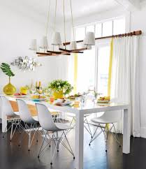 Beachy Chandeliers by 30 Modern Dining Rooms With Magnificent Chandeliers