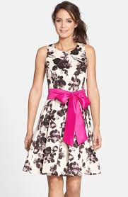 eliza j dresses free shipping and returns on eliza j floral print fit flare