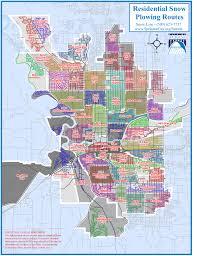 Map Of Spokane Washington Spokane U0027s New Snowplow Plan Faster Plowing Narrower Streets