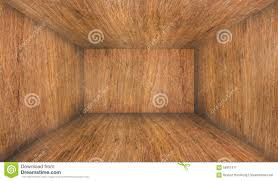 empty wood room with walls and floor stock photo image 58951677