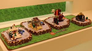 cuisine minecraft four lego minecraft sets been revealed com