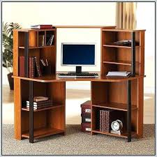 Corner Desk Shelves Corner Desk Shelf Unit With Bookshelves Shelving Small Hutch Home