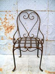 Patio Wrought Iron Furniture by Wrought Iron Double Heart Bench Patio Furniture