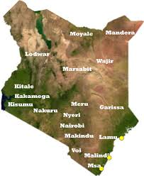 Show Me The Weather Map Kenya Meteorological Department