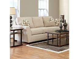 Klaussner Sleeper Sofa Klaussner Kent Casual Sleeper Sofa With Flared Arms Dunk