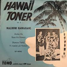 Toner Nr malihini hawaiians hawaii toner nr 3 vinyl at discogs