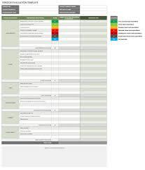 Supplier Scorecard Template Excel 13 Free Vendor Templates Smartsheet