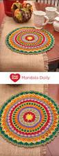 free crochet home decor patterns mandala doily by cristina mershon free crochet pattern