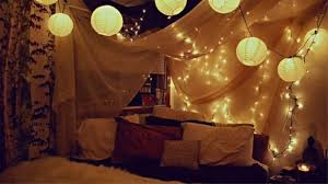 Diy Canopy Bed With Lights Lighted Wall Or Bed Canopy For Diy Decor