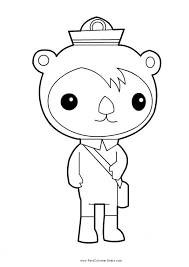 octonauts coloring pages u2013 barriee