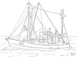 fishing boat coloring page free printable coloring pages
