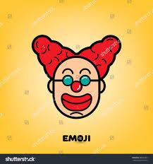 emoji icon clown stock vector 488227441 shutterstock