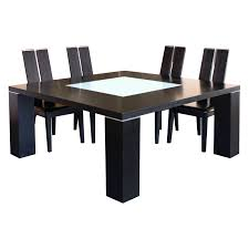 Square Dining Room Table For 4 Dining Tables Magnificent Round Glass Top Dining Table Chairs